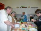 Liebevolle Vorbereitung zum Wohl der Gäste