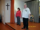 Führung durch das Programm durch unsere bewährten Moderatoren Sigrid und Günter